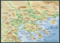 Ancient macedonia map from pinterest 4