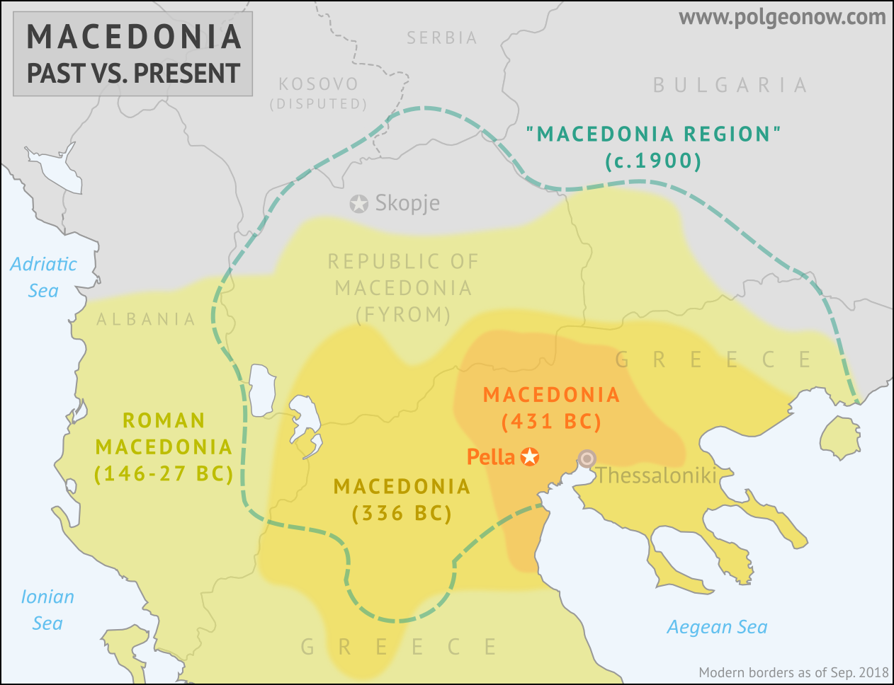 Ancient Macedonia Map From Polgeonow 5