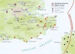 Battle of britain map from military history 3
