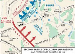 Battle of fort sumter map from britannica 9