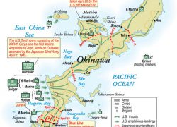 Battle of okinawa map from nationalinterest 5