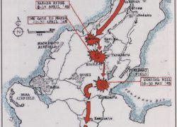 Battle of okinawa map from primarysourcenexus 8