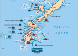Battle of okinawa map from sutori 10