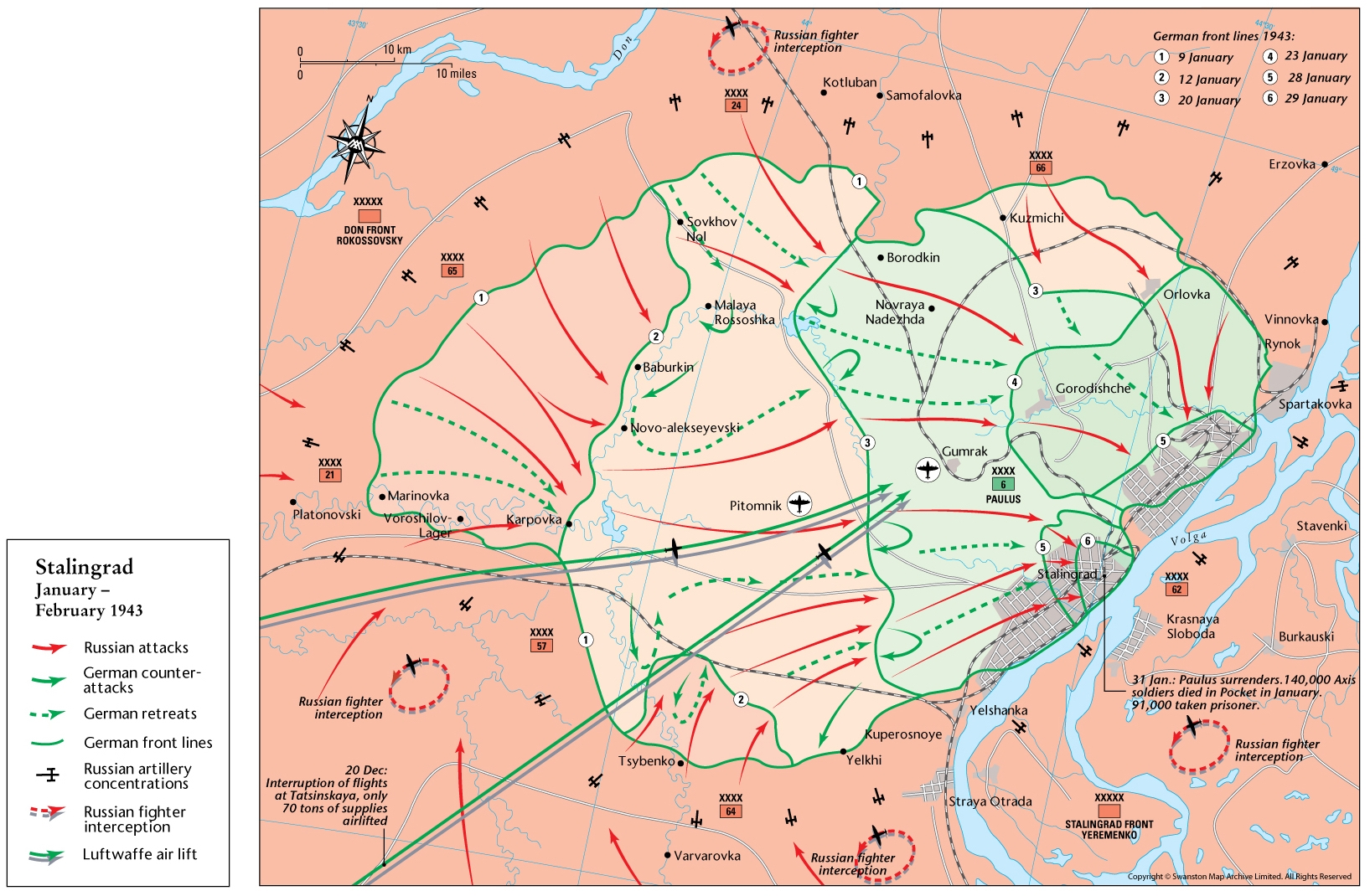 Battle Of Stalingrad Map From Themaparchive 2