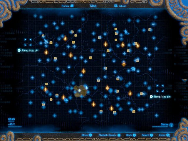 Botw Shrine Map Hd