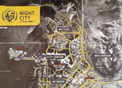 Cyberpunk 2077 map from videogameschronicle 7