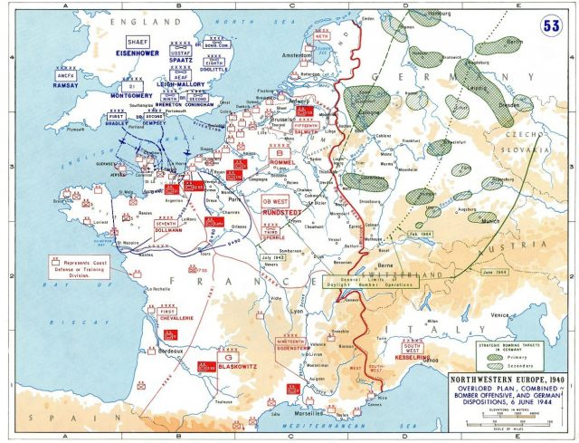 D Day Map