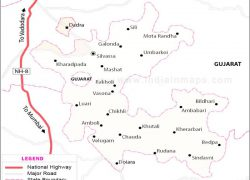 Dadra and nagar haveli map from in 6