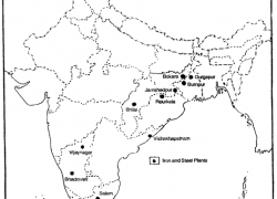 Durgapur iron and steel plant on map from pinterest 7