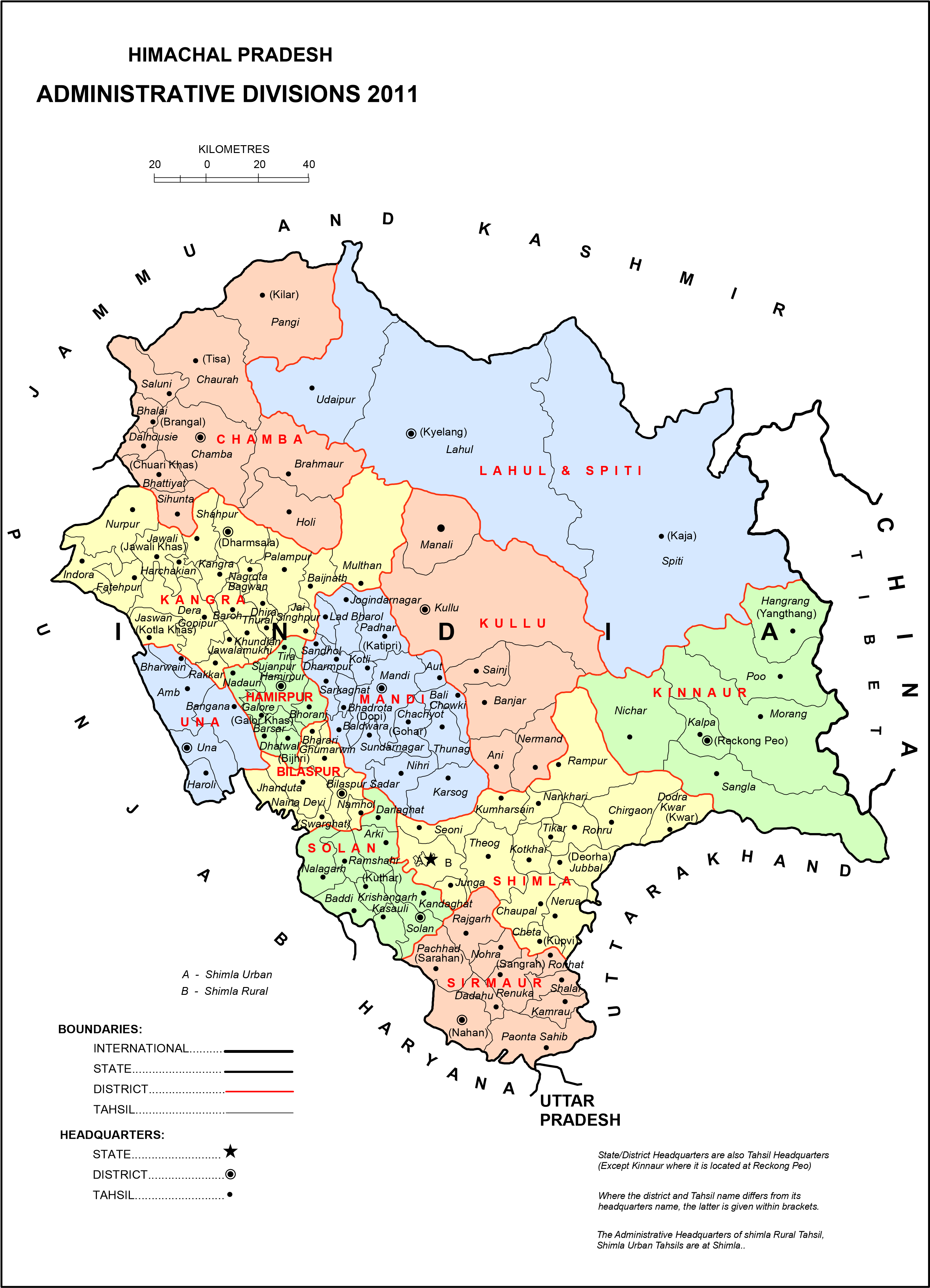Himachal Map From Bragitoff 8