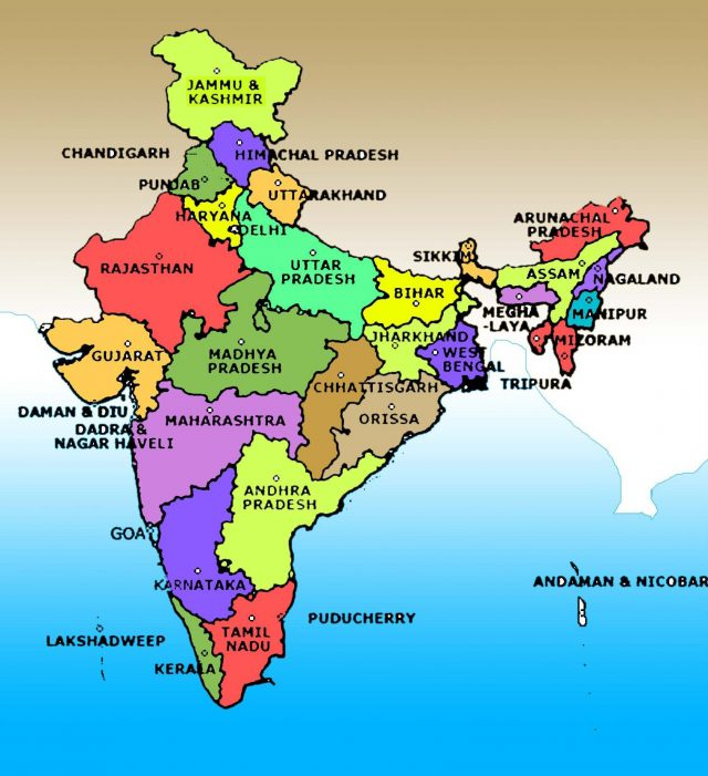 India Map Full Hd