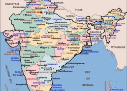 India map with states hd from adagebiopower 7