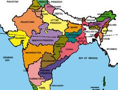 India map with states hd from in 4