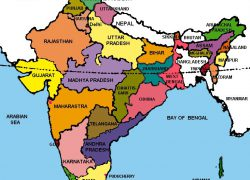 India map with states hd from in 6