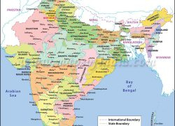 India map with states hd from pinterest 10