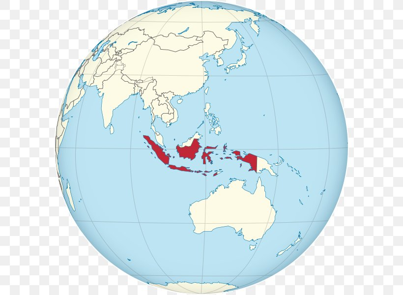 Indonesia In World Map From Favpng 8