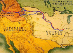 Lewis and clark expedition map from thinktv 9