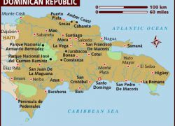 Map of dominican republic from lonelyplanet 8
