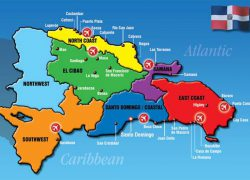 Map of dominican republic from pinterest 7