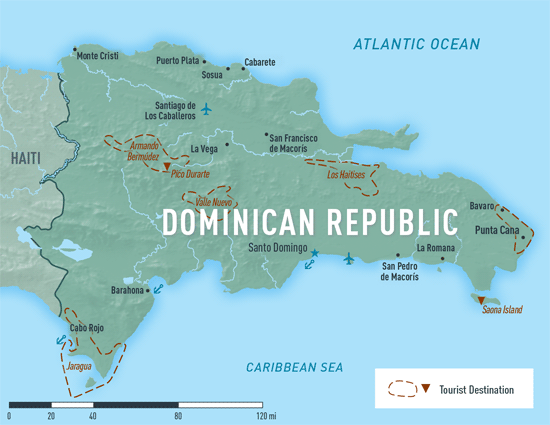 Map Of Dominican Republic From Wwwnc 9