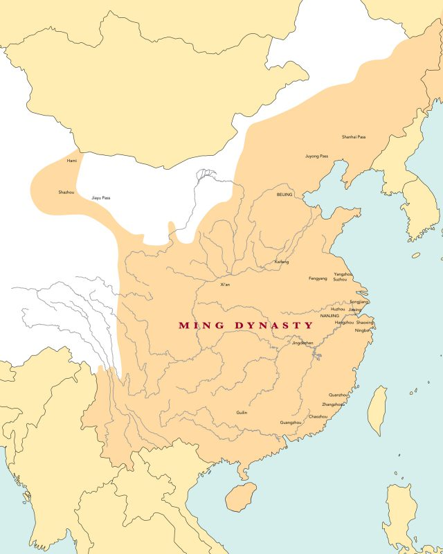 Ming Empire Map