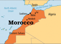 Morocco Map: Morocco map from pinterest 1