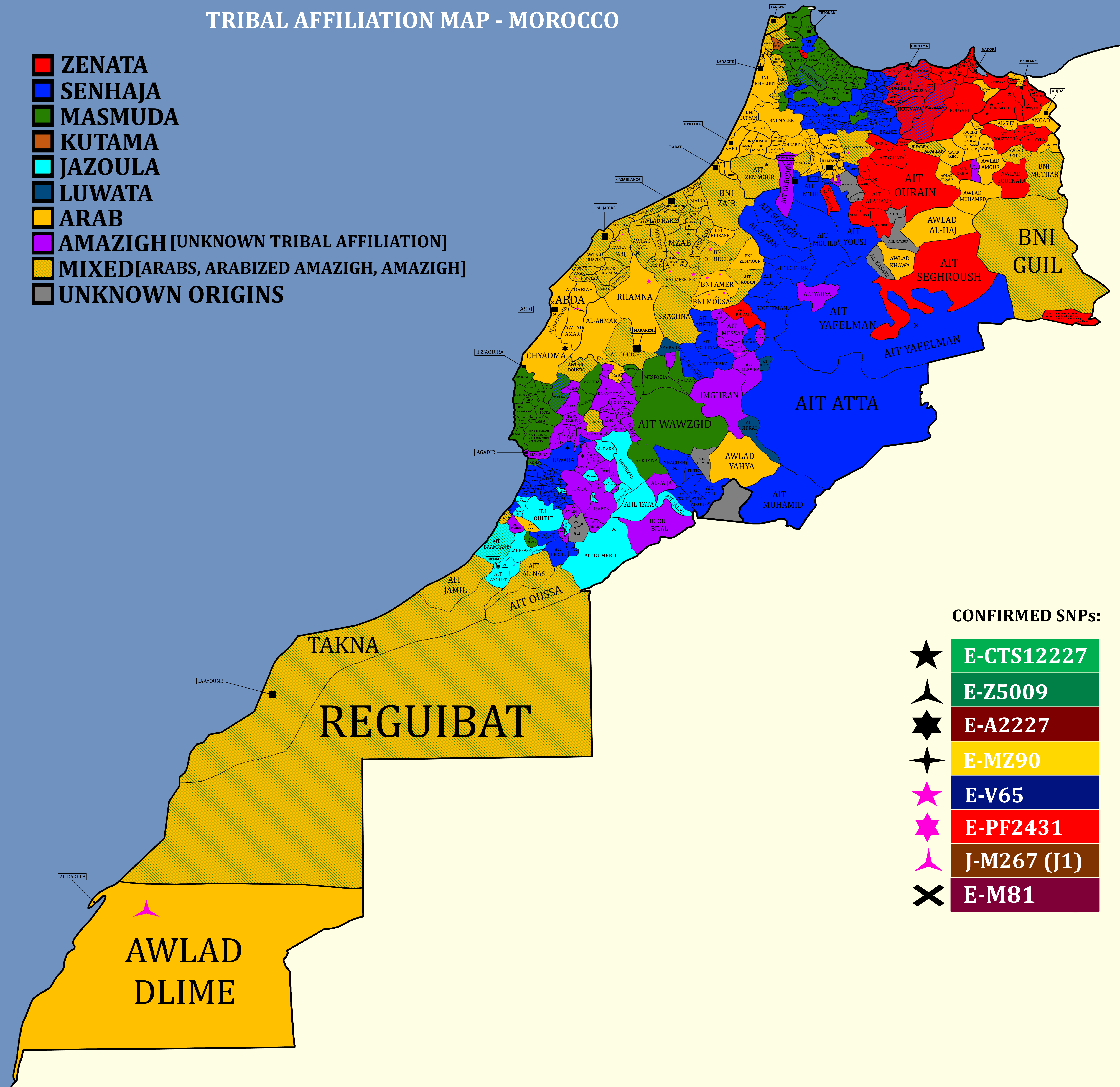 Morocco Map From Reddit 8