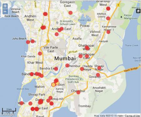 Mumbai Map From En 10