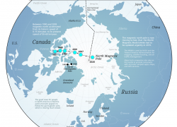 North Pole Map: North pole map from visualcapitalist 1