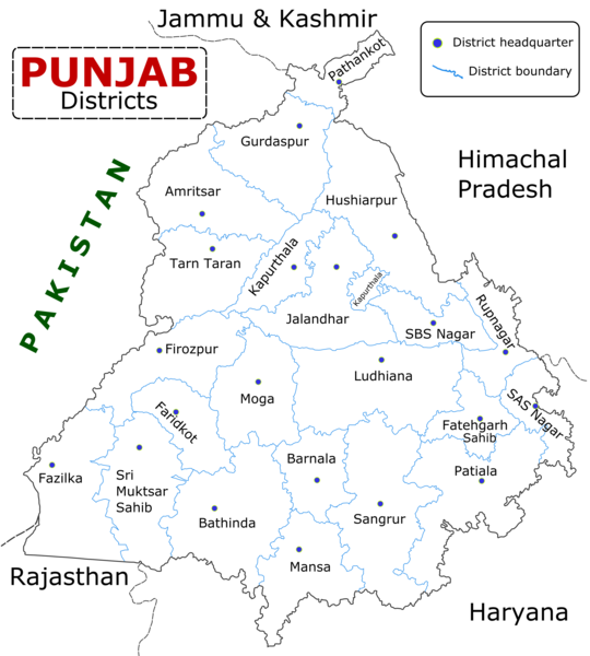 Punjab Map From Commons 2