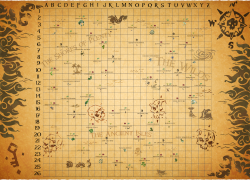 Sea of thieves animal map from reddit 8