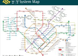 Singapore Mrt Map Hd