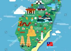 Taiwan map from pinterest 6