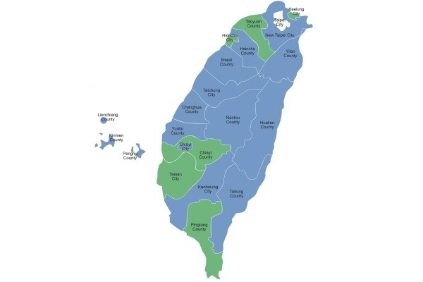 Taiwan Map From Taiwannews 3