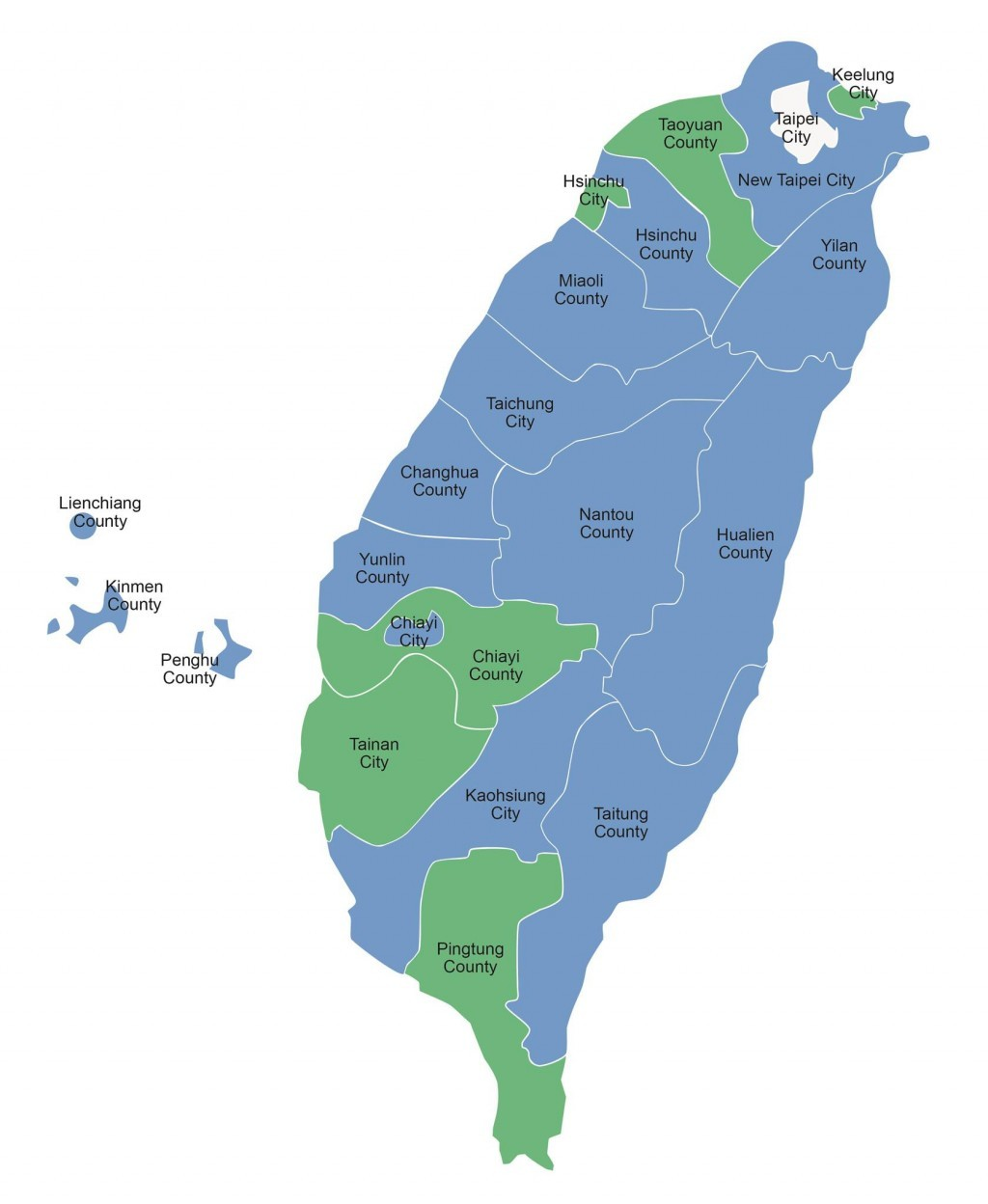 Taiwan Map From Taiwannews 8
