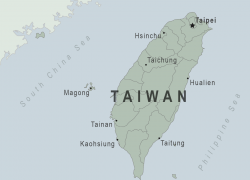 Taiwan map from wwwnc 1