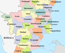 Tamil nadu map from en 1