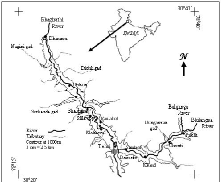 Tehri Dam On Map
