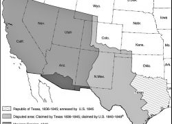 Treaty Of Guadalupe Hidalgo Map: Treaty of guadalupe hidalgo map from ssc 1