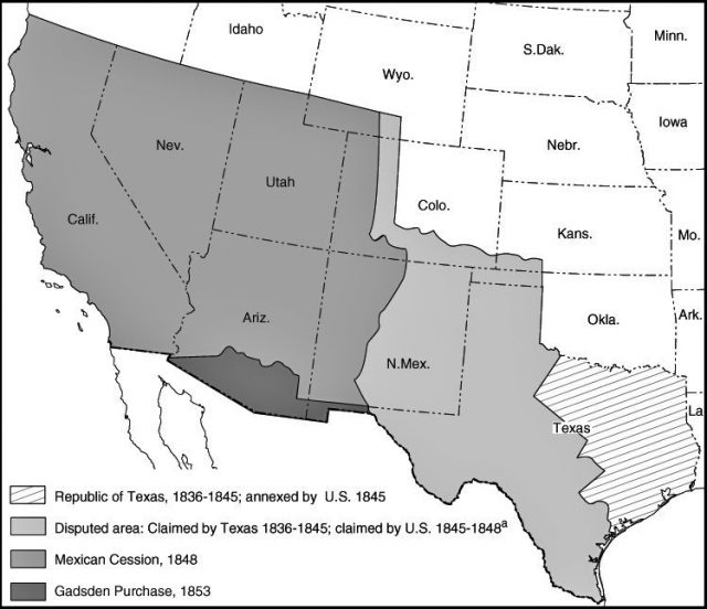Treaty of guadalupe hidalgo map from ssc 1