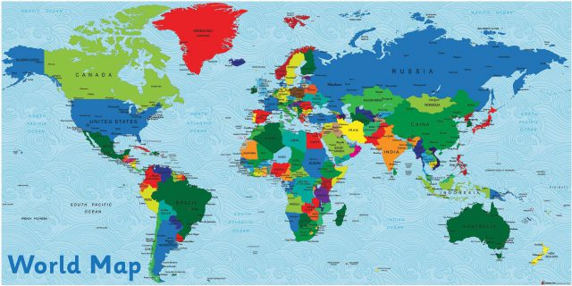 Uk In World Map