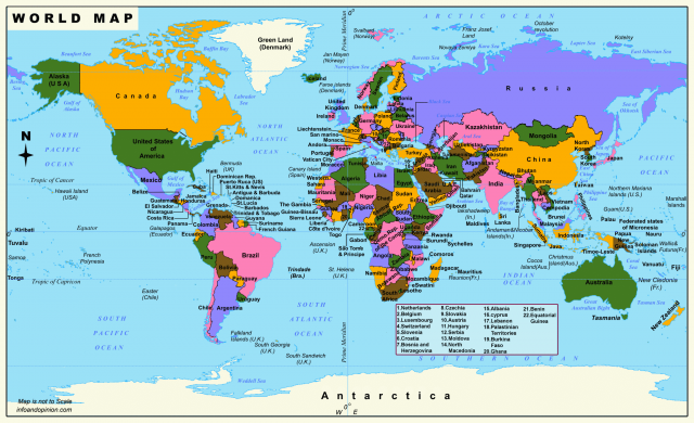 World Map 2020 Hd
