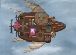 Among Us Airship Map Layout