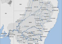 Darling river map from abc 4
