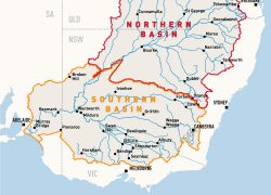 Darling river map from mdba 2