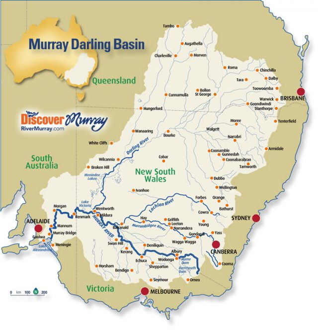 Darling River Map