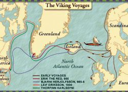 Leif Erikson Map: Leif erikson map from webexhibits 1