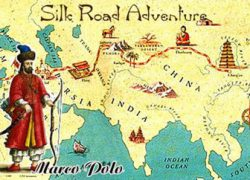 Marco polo explorer map from silk road 8