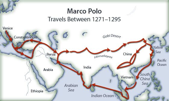 Marco Polo Map From Pinterest 9