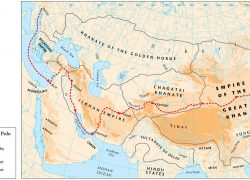 Marco Polo Map: Marco polo map from themaparchive 1